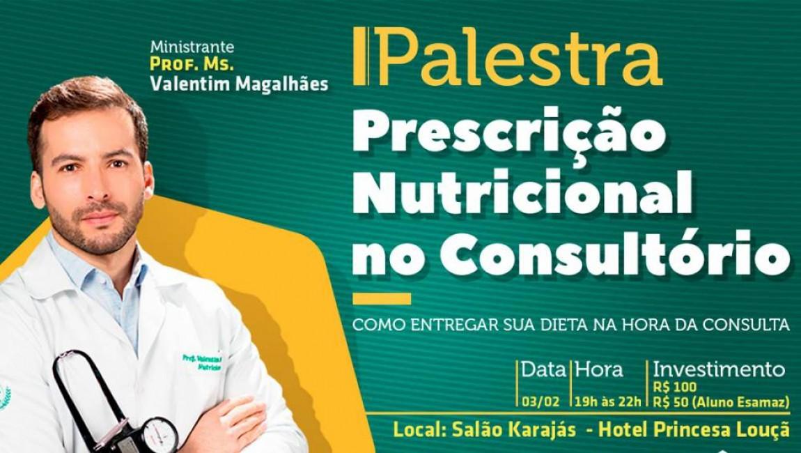 Prescrição Nutricional no Consultório