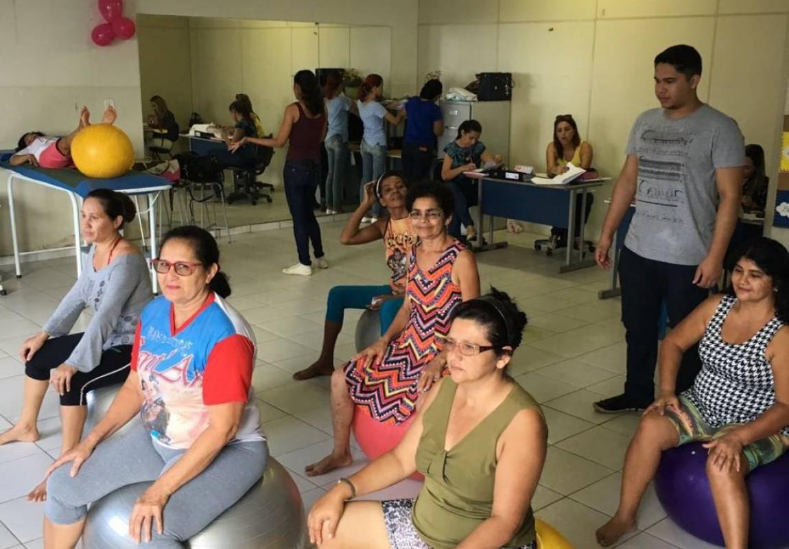 Acadêmicos de Fisioterapia realizam atividades em Ananindeua