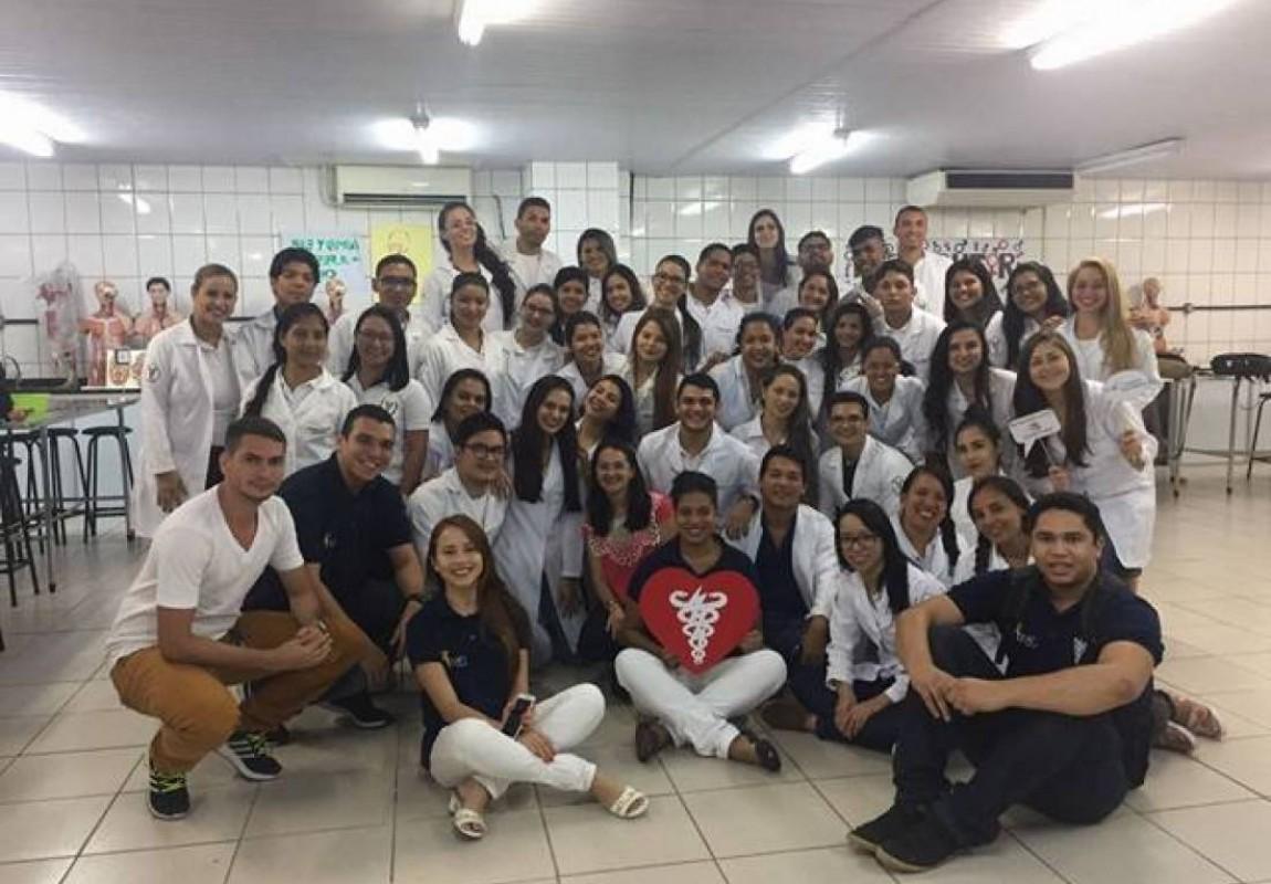 Alunos de Fisioterapia participaram do encerramento  da Semana Acadêmica na Esamaz