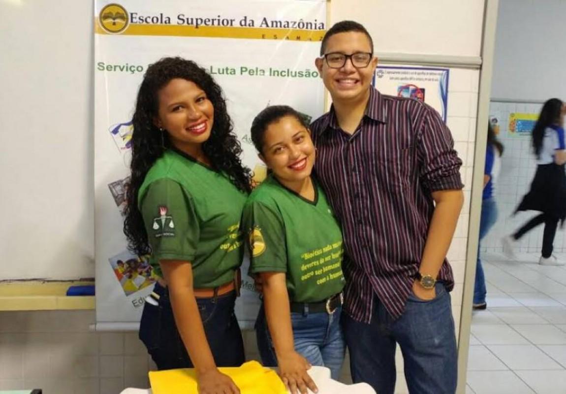Curso de Serviço Social participa de Feira Vocacional em Belém