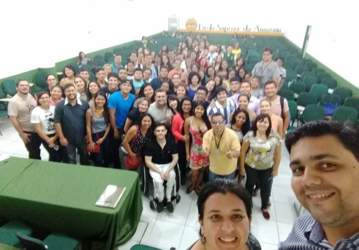 Esamaz promove semana de palestras para alunos de Biomedicina