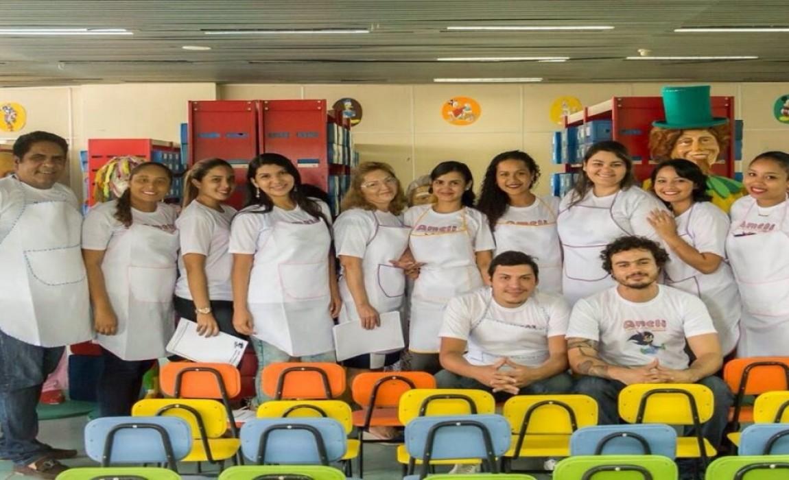 Curso de Psicologia da Esamaz participa de eventos em Belém