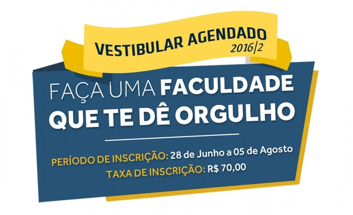 Estão abertas as inscrições para o Vestibular Agendado 2016/2 da ESAMAZ