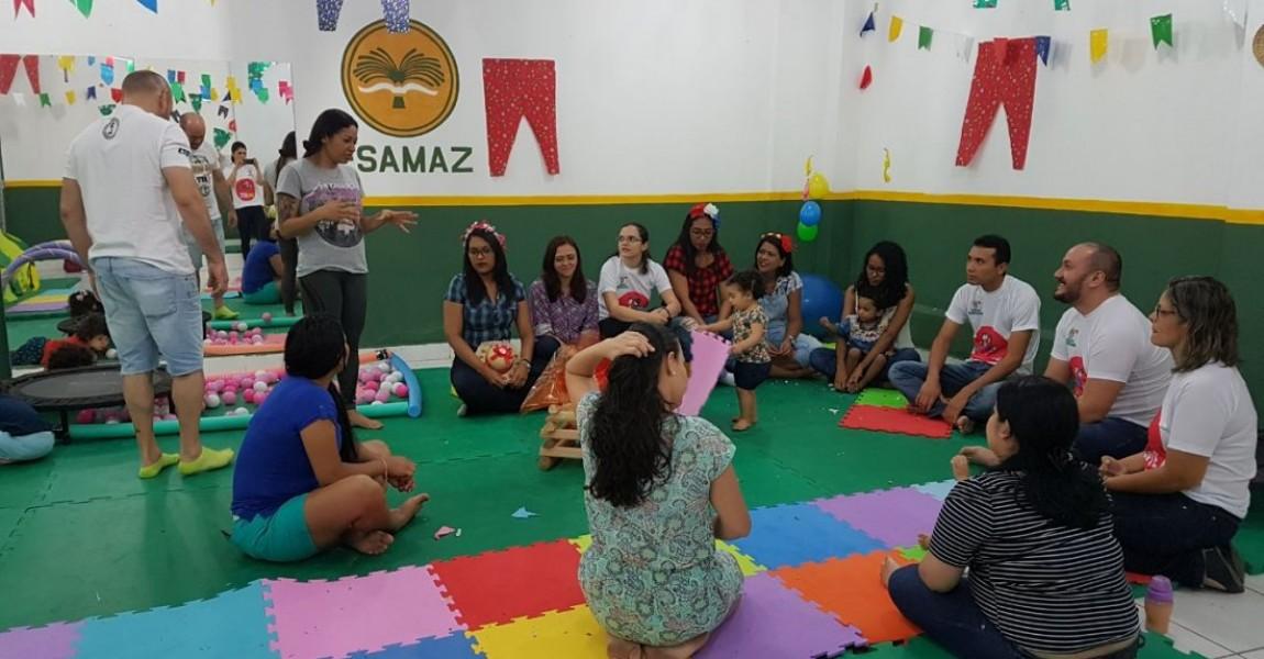 3º encontro do projeto Brincarte foi em ritmo de São João na Esamaz