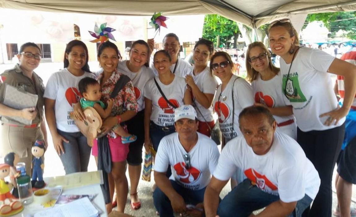 Alunos de Nutrição participam de dois eventos em Belém no fim de semana
