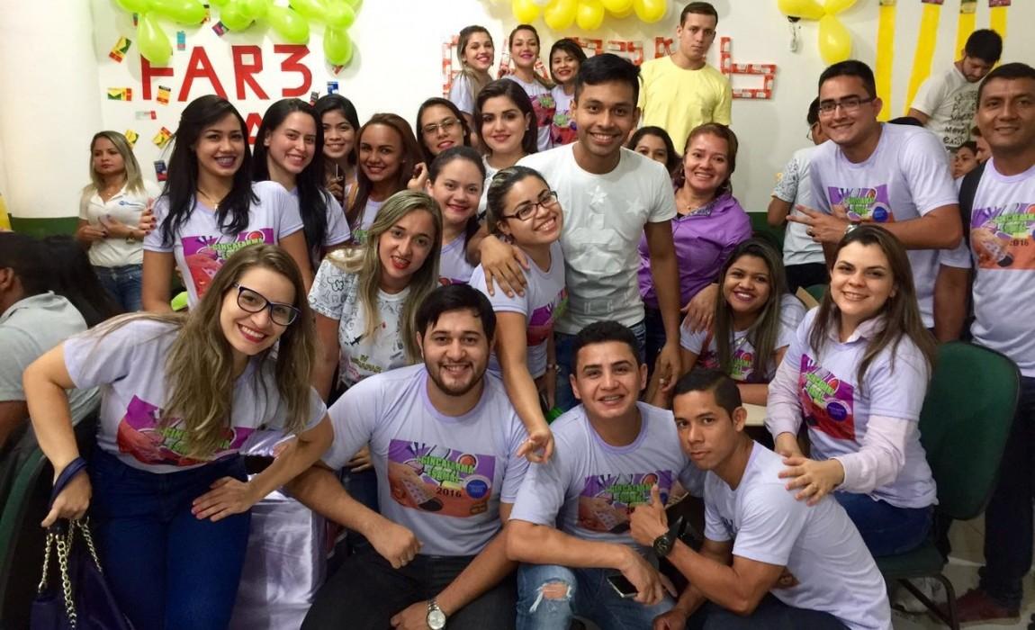 Curso de Farmácia comemora sucesso da I GincaFarma na Esamaz