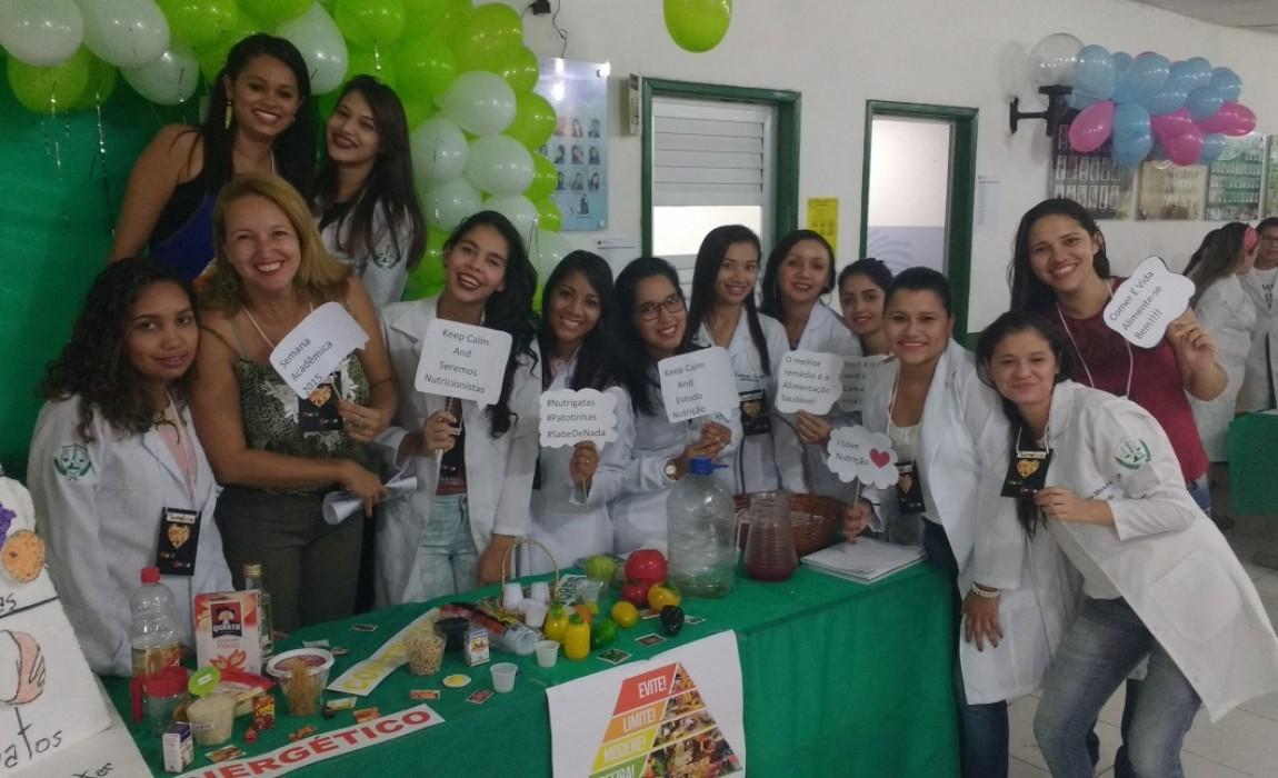 Curso de Nutrição participa da III Semana Acadêmica da Esamaz