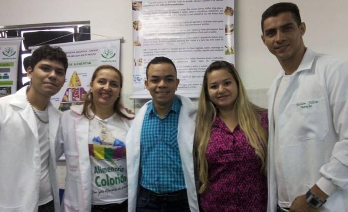 Curso de Nutrição da Esamaz participa de Feira Vocacional no colégio Equipe