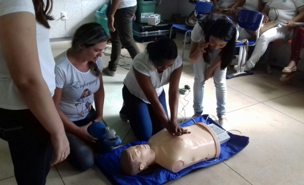 Curso de Enfermagem realiza Oficina de Parada Cardiorrespiratória