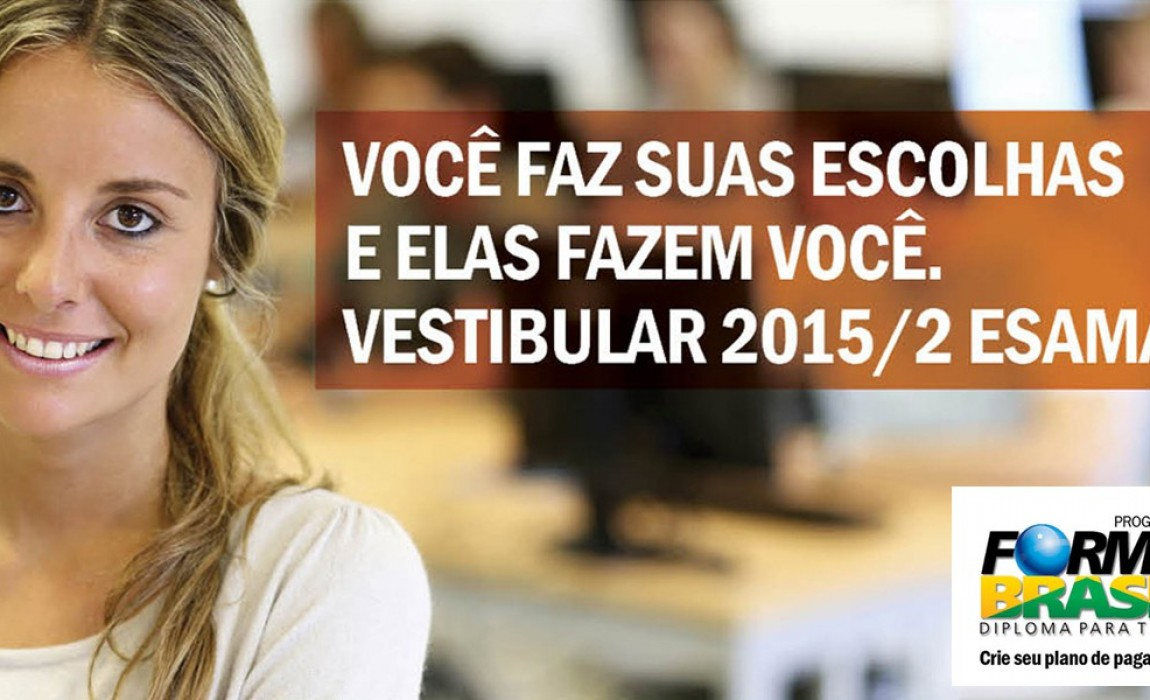 Abertas as Incrições para o Vestibular Unificado da Esamaz e FTDC