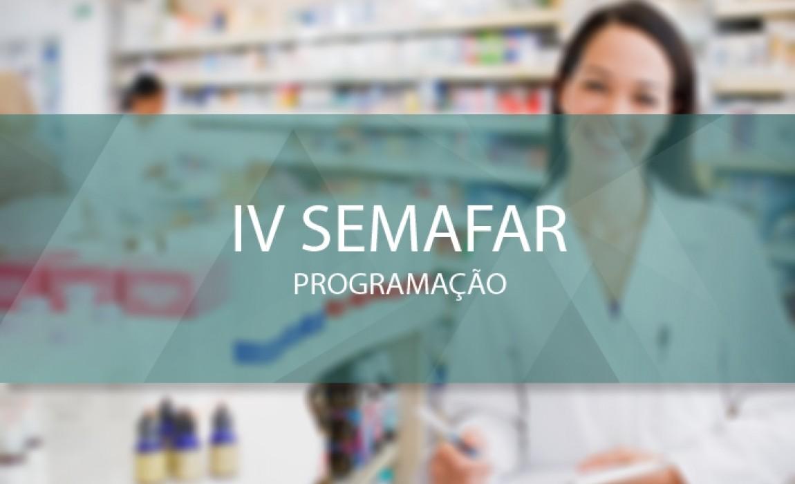 Curso de Farmácia divulga programação da Semana Acadêmica
