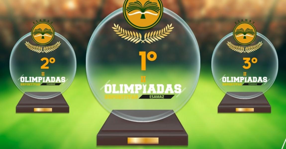 Abertas as inscrições abertas para a II Olímpiadas Esportivas da Esamaz