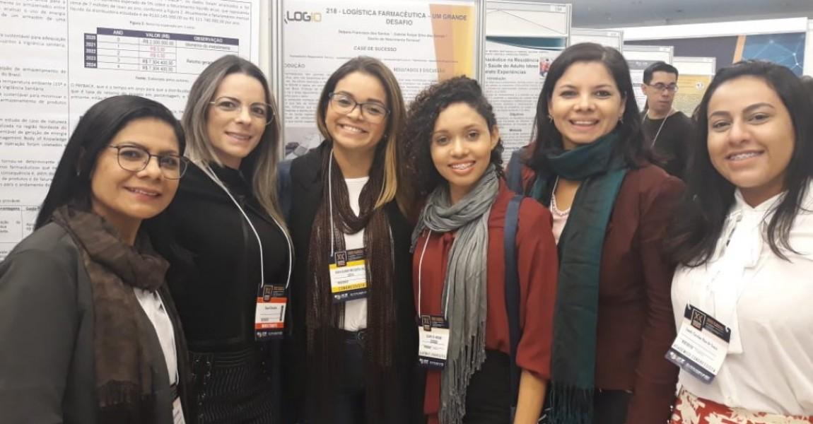 Acadêmicas da Esamaz apresentam trabalho científico no XX Congresso Farmacêutico de São Paulo