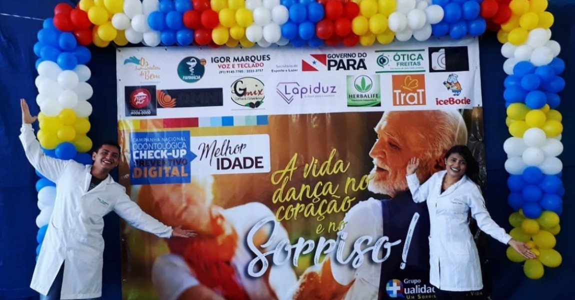 Acadêmicos de Farmácia da Esamaz  atendem idosos no Centro Social de Nazaré
