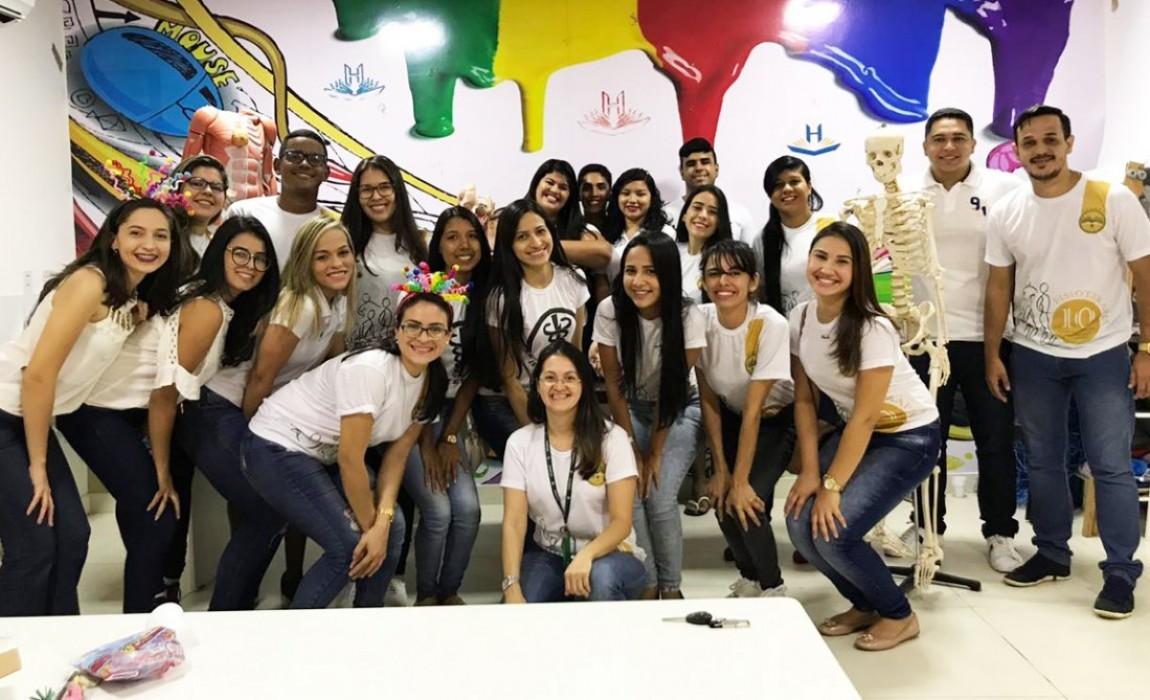 Curso de Fisioterapia da Esamaz promove ações integradas nas escolas, em Belém