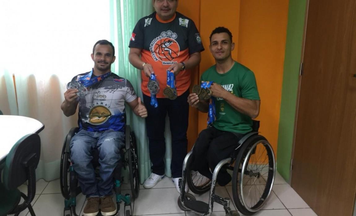 Alunos da Esamaz conquistam medalhas de ouro e prata em provas de atletismo na Paraíba