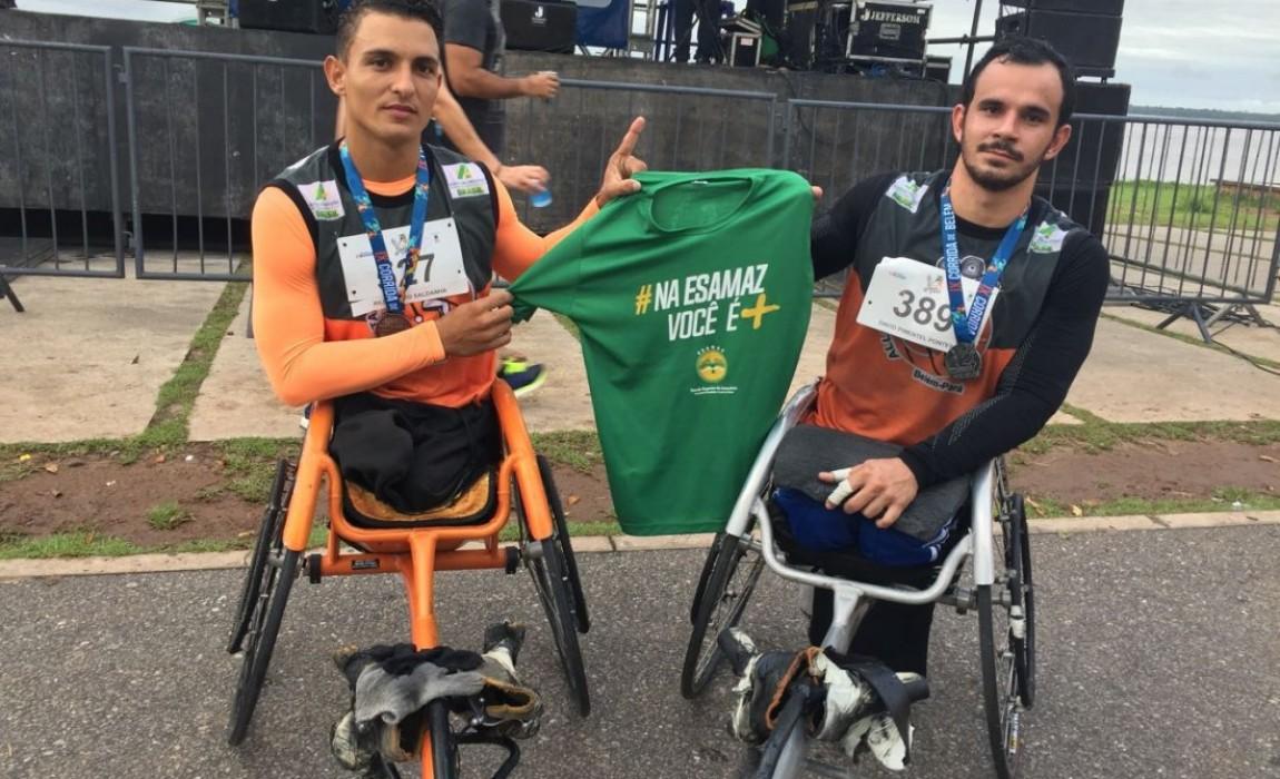 Alunos da Esamaz conquistam o 1º e 2º lugar do podium na IX Corrida de Belém