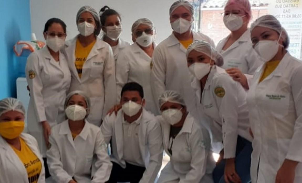 Alunos de Enfermagem da ESAMAZ fazem manhã de saúde em Marituba
