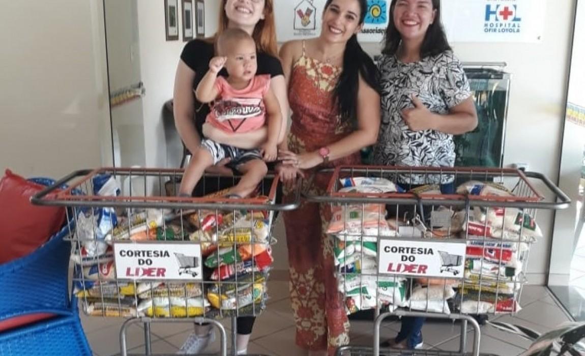 Alunos de Enfermagem doam alimentos para o Instituto  Casa Ronald MacDonald em Belém