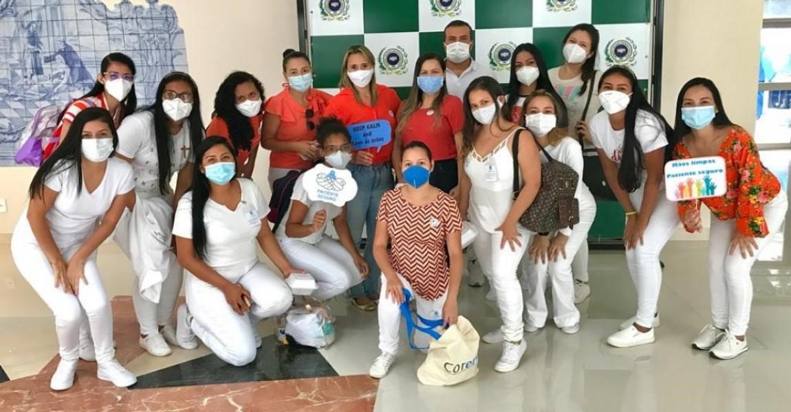 Alunos de Enfermagem realizam Semana de Segurança do Paciente no Hospital Beneficiente Portuguesa