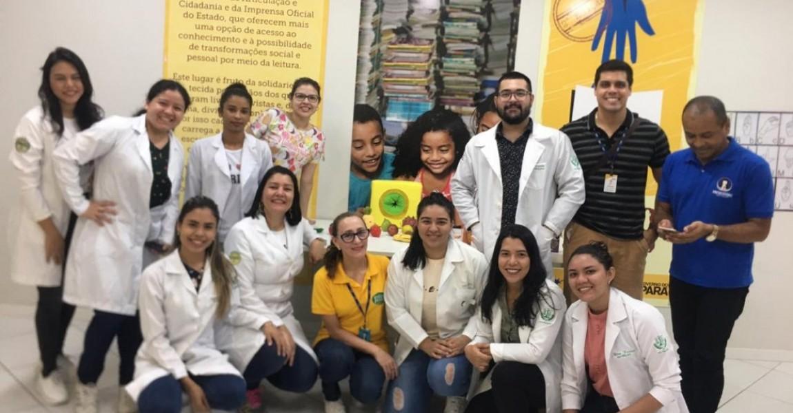 Alunos de Nutrição da Esamaz realizam atividade de Educação Nutricional no preventório Santa Terezinha