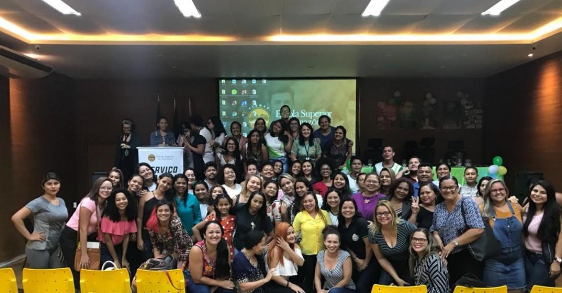 Alunos de Serviço Social da Esamaz realizam evento para alunos de outras faculdades de Belém