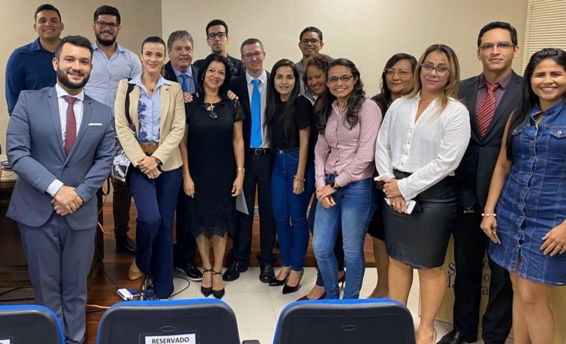 Alunos do curso de Direito da Esamaz participam de Aula Magna na EJPA