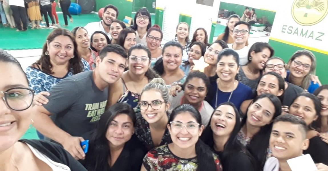 Alunos e professores do Curso de Terapia Ocupacional participam do Encontro de Integração do semestre