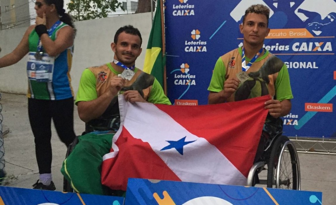 Alunos Esamaz estão entre os melhores atletas do Brasil no Ranking do Comitê Paraolímpico