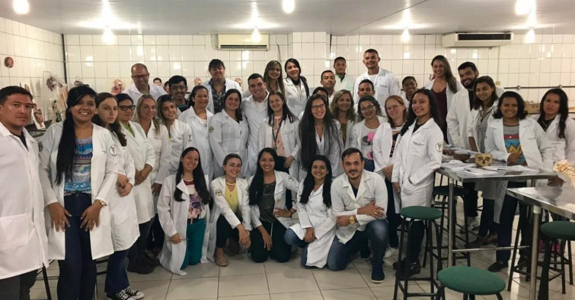 Centro acadêmico do curso de Fisioterapia organiza Oficina de Anatomia