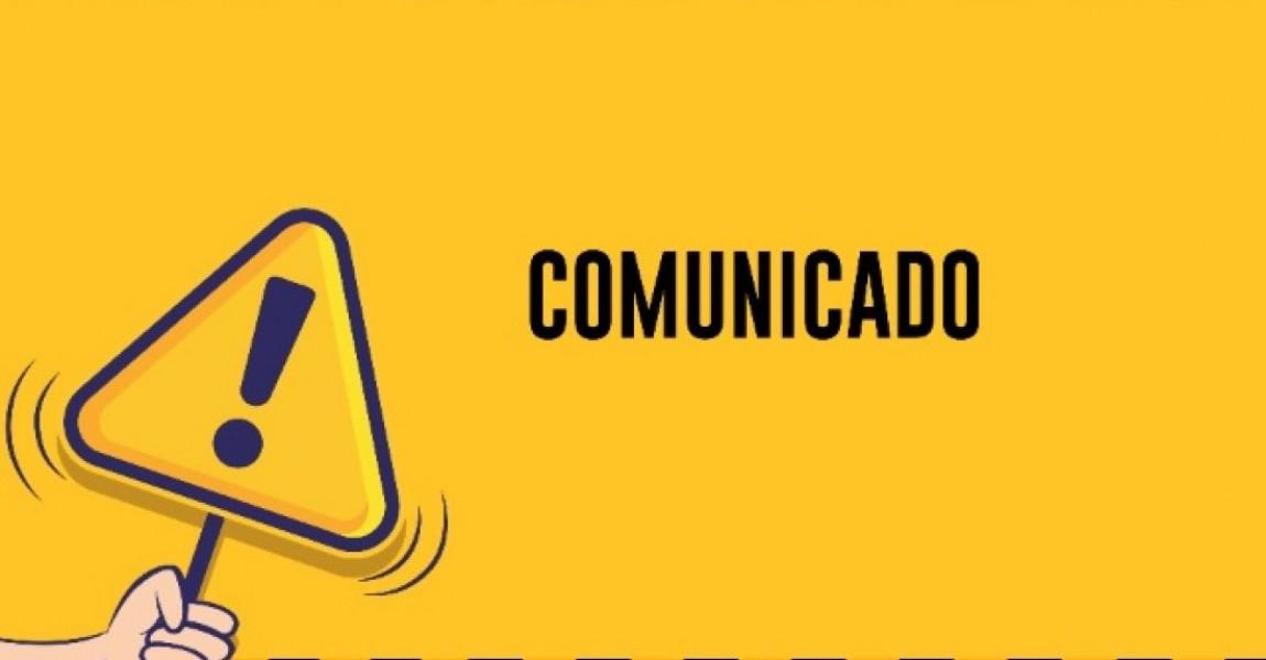 Comunicado - Suspensão de Atividades na Unidade São Pedro
