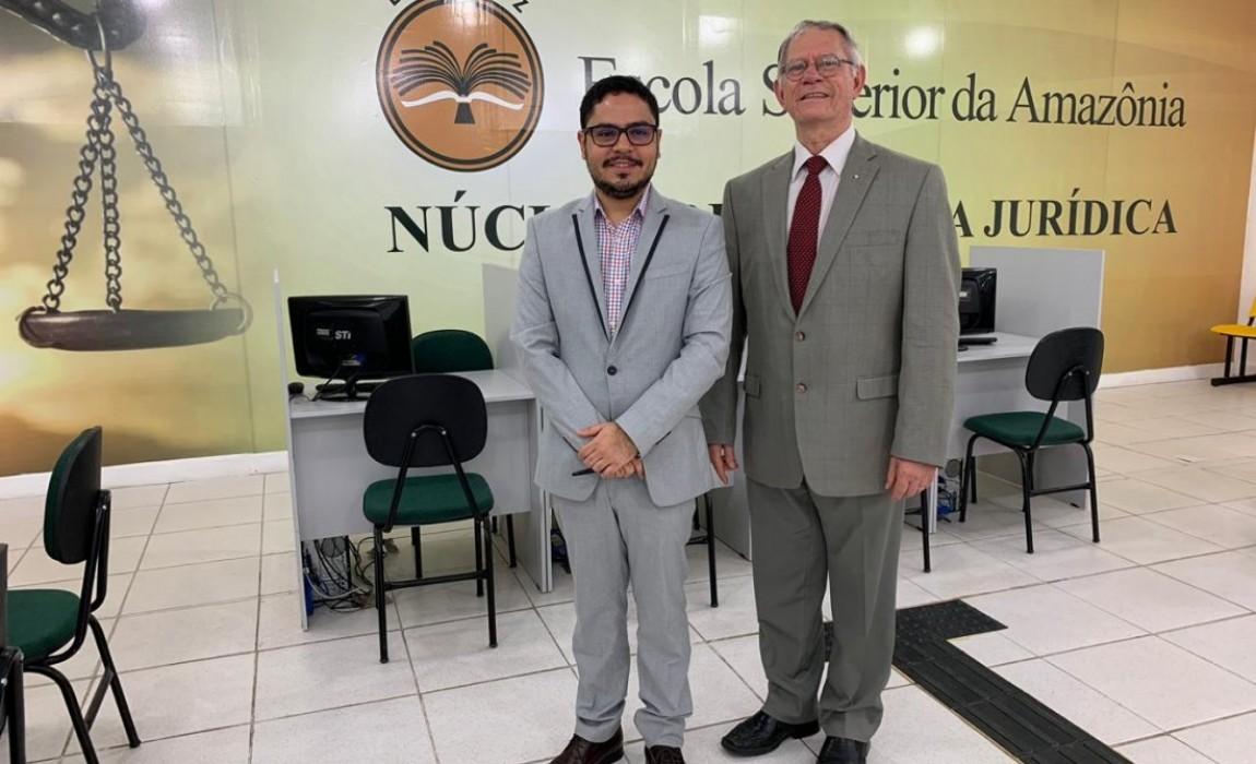 Curso de Direito da Esamaz firmará convênio com a Academia Paraense de Letras Jurídicas