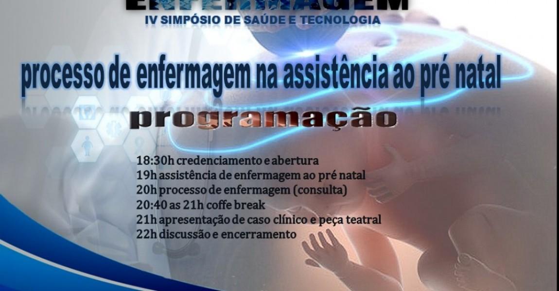 Curso de Enfermagem vai promover Simpósio sobre Processo de Assistência ao Pré-Natal