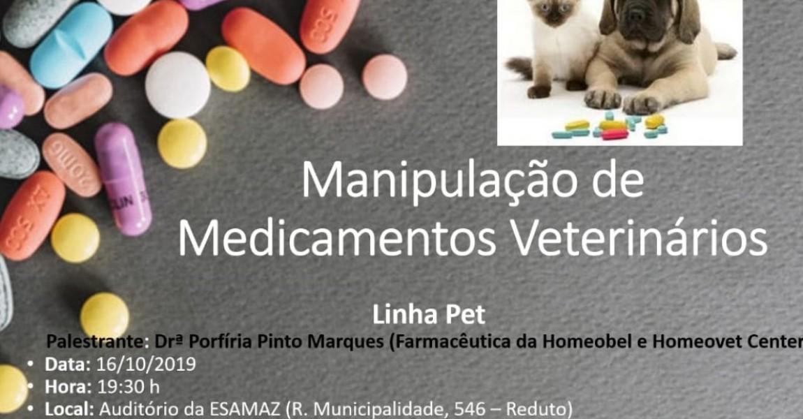Curso de Farmácia promove palestra sobre Manipulação de Medicamentos Veterinários nesta quinta (16)