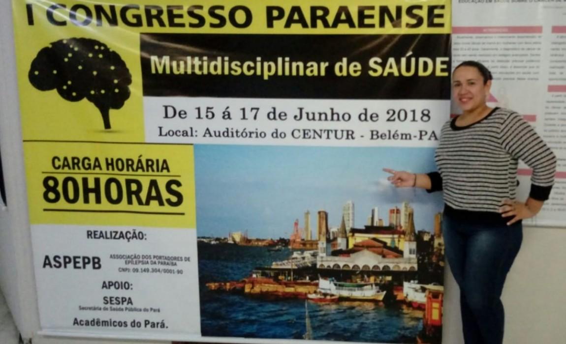 Curso de Nutrição da Esamaz participa do I Congresso Paraense Multiprofissional de Saúde
