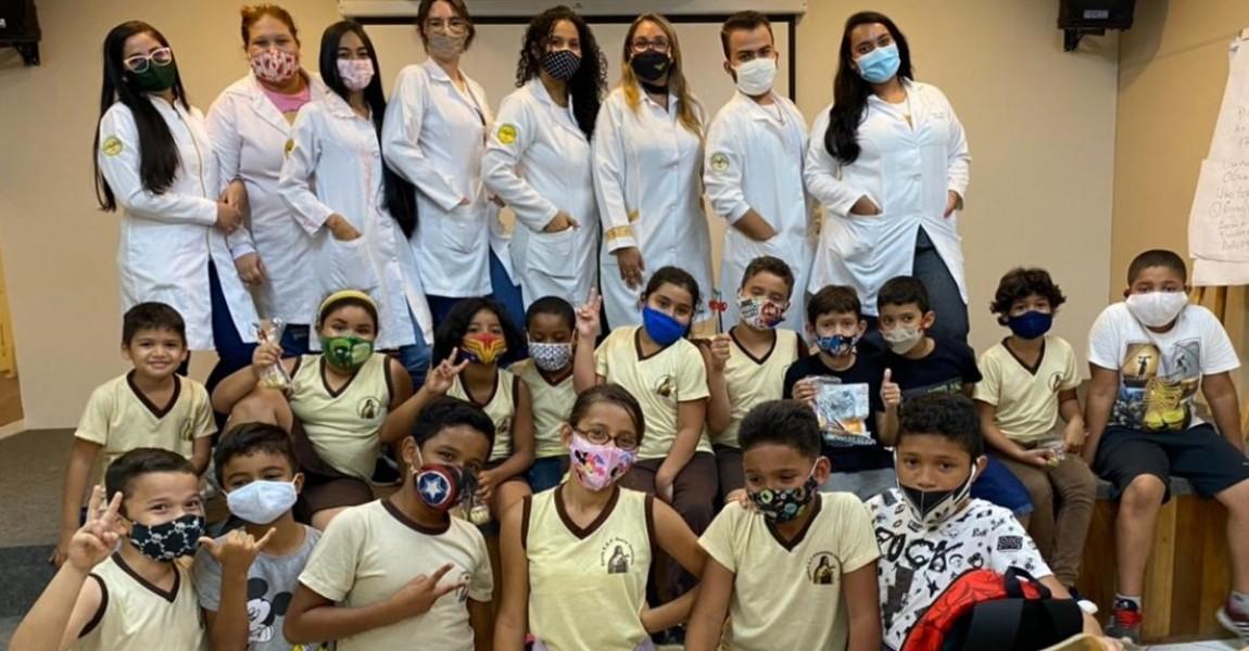 Curso de Nutrição da Esamaz realiza atividades de estágio supervisionado no Preventório Santa Terezinha