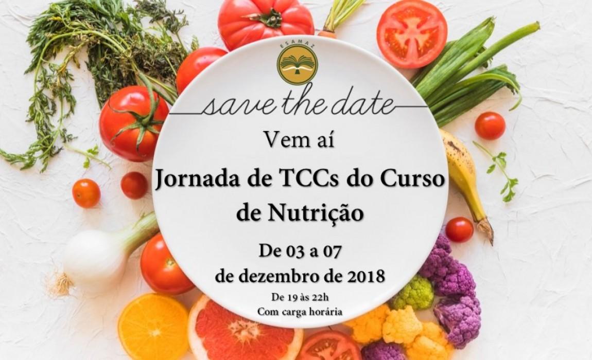 Curso de Nutrição terá Jornada de TCCs no mês de dezembro na Esamaz