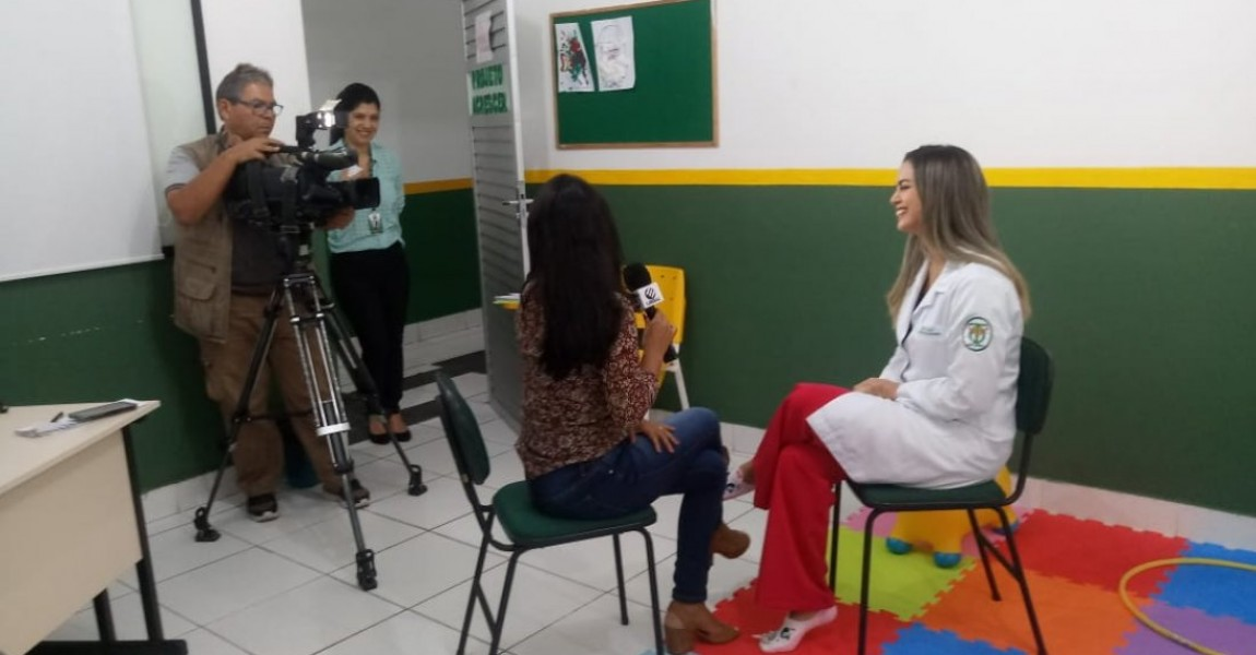 Curso de Terapia Ocupacional da Esamaz é tema de reportagem da TV Liberal