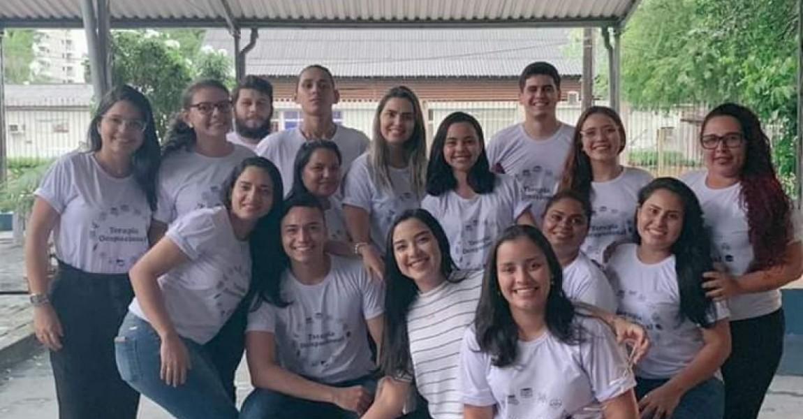 Curso de Terapia Ocupacional realiza atividades de projeto de ensino e extensão na Escola Ulysses Guimarães, em Belém