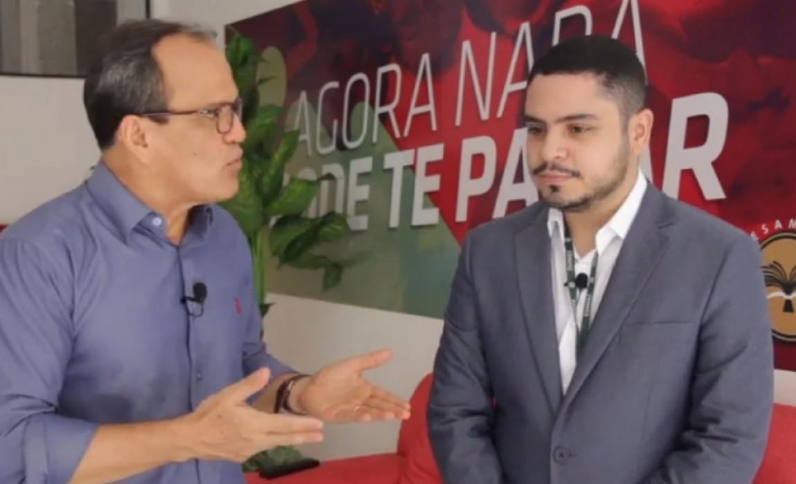 Diretor acadêmico da Esamaz Abaetetuba fala sobre a Instituição ao programa Panorama