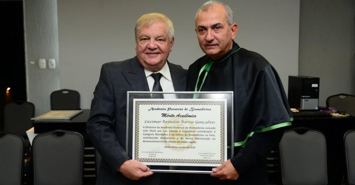 Diretor Geral da Esamaz é homenageado pela Academia Paraense de Biomedicina