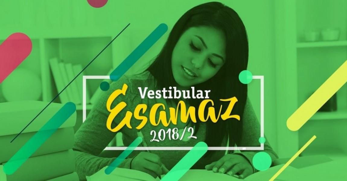 ESAMAZ abre inscrições para o Vestibular 2018.2 com três novos cursos