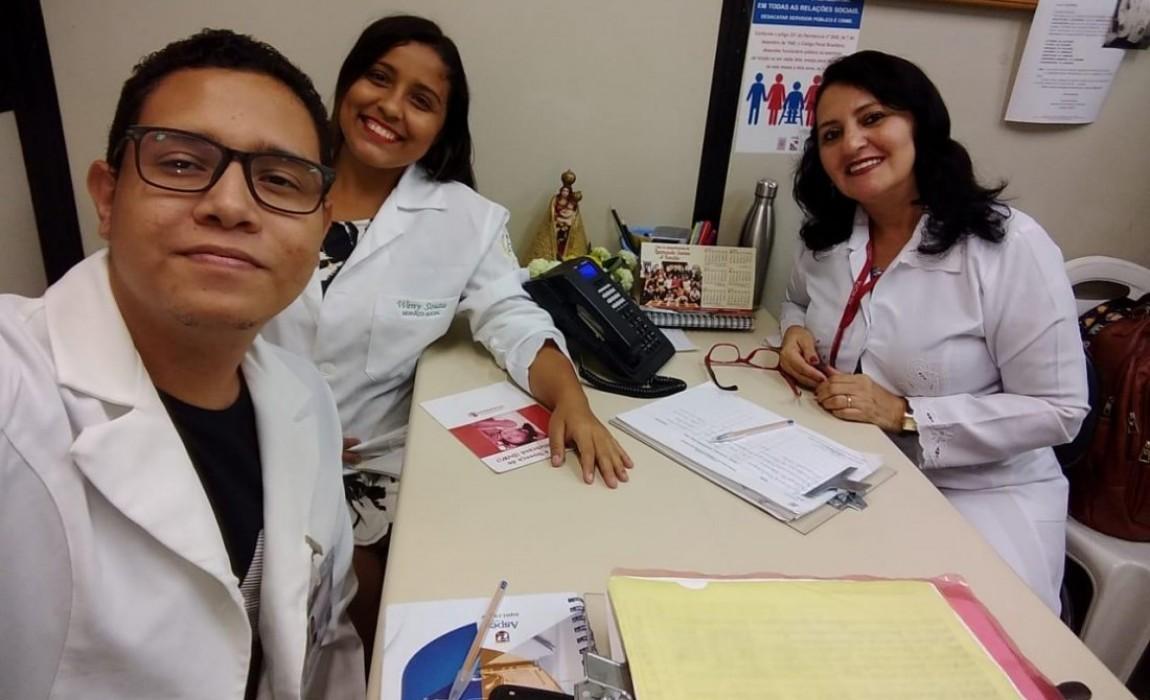 Esamaz e Hemopa firmam parceria que beneficia os alunos de Serviço Social da Instituição