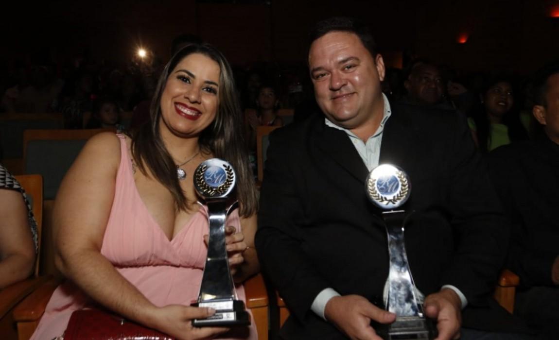 Esamaz participa da cerimônia de premiação do Troféu Romulo Maiorana