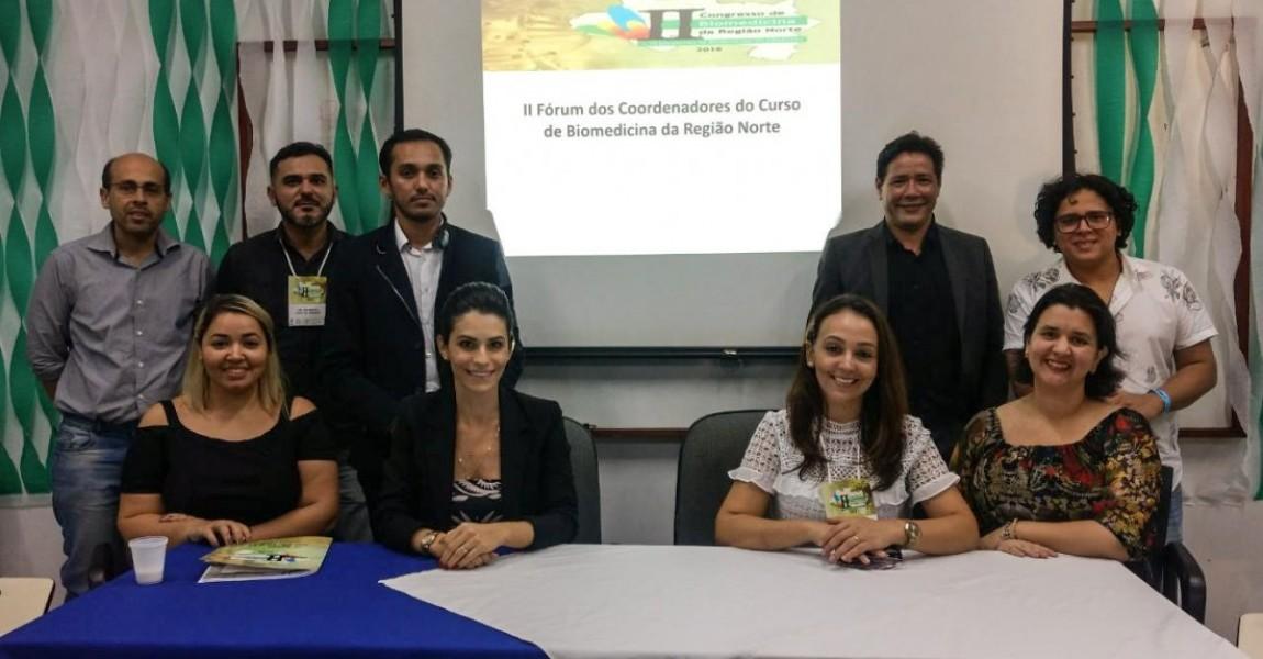 Esamaz participa do II Fórum de Coordenadores do Curso de Biomedicina da região Norte