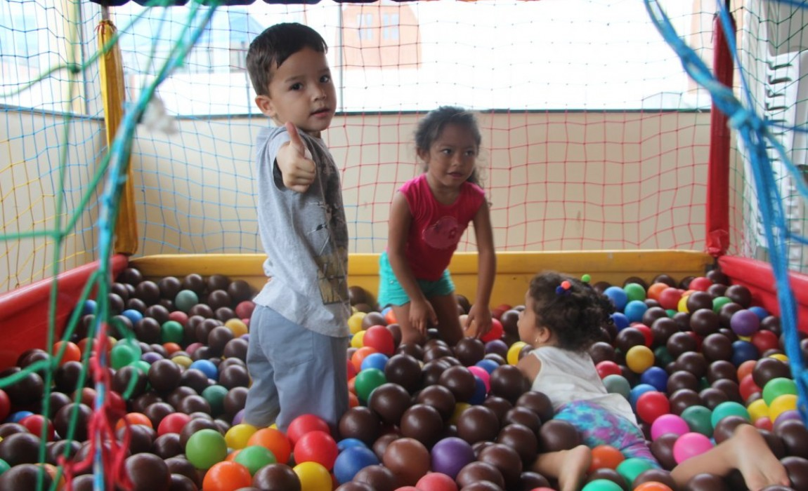 Esamaz promove festa do Dia das Crianças na Igreja de São Raimundo Nonato, em Belém