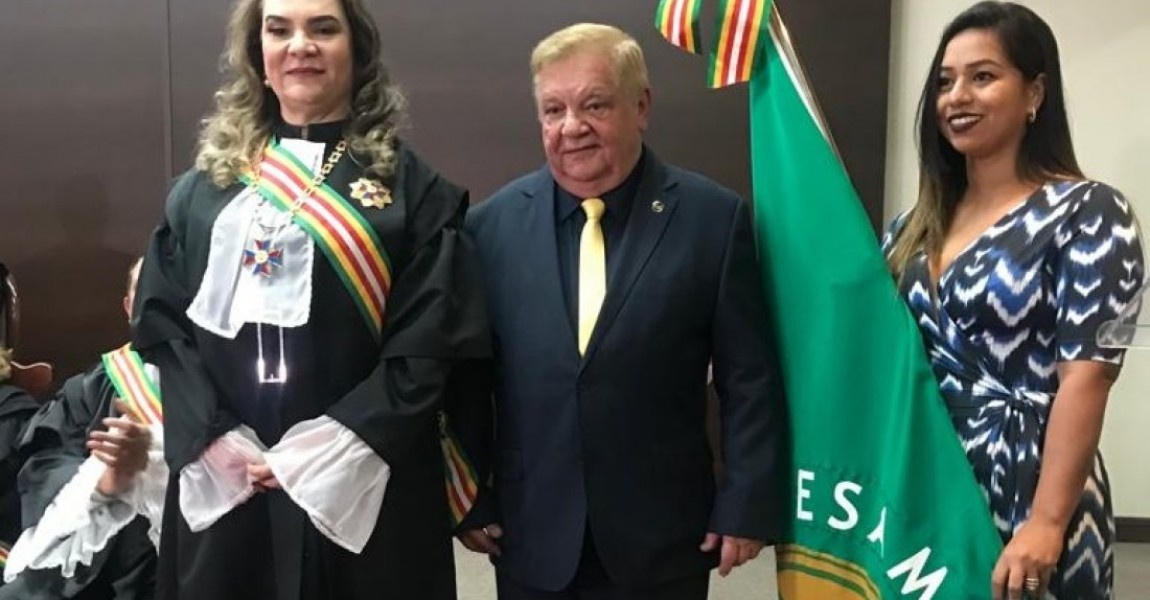Esamaz recebe homenagem do Tribunal Regional do Trabalho da 8ª Região