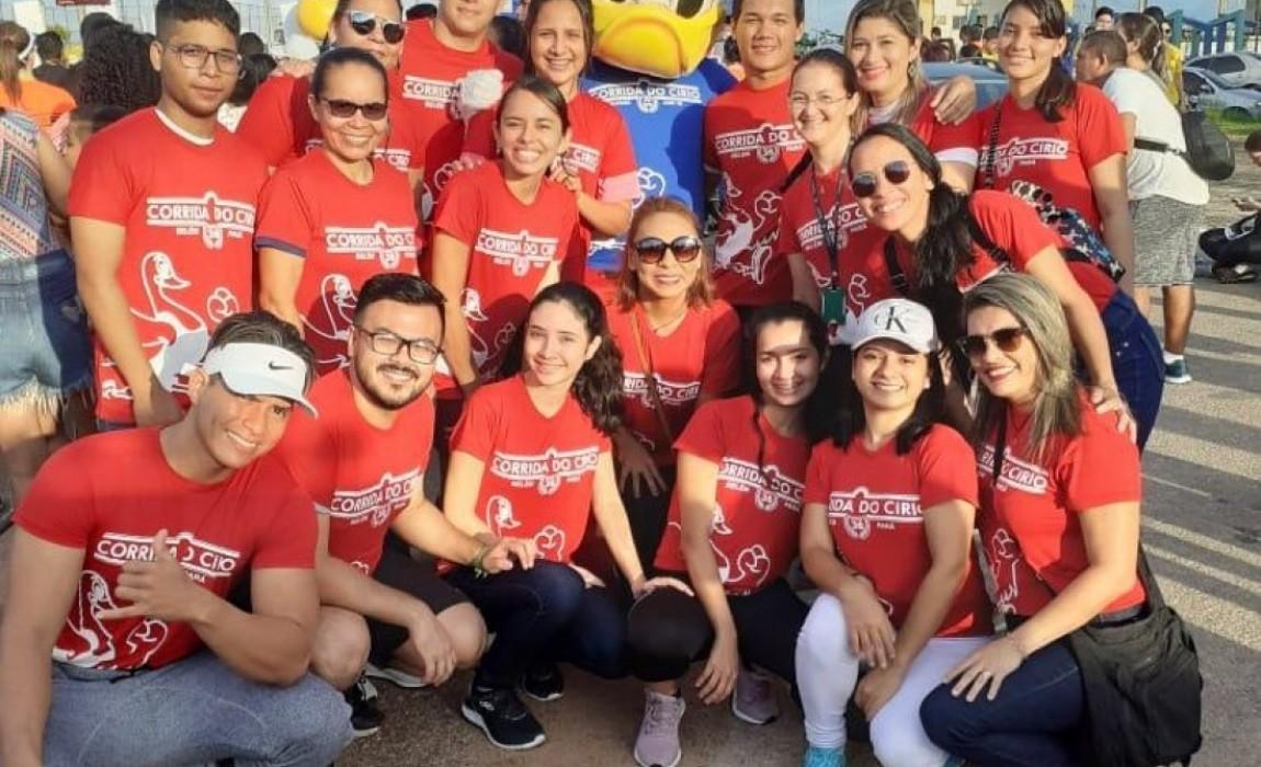 Esamaz teve participação especial na Corrida do Círio realizada neste domingo em Belém