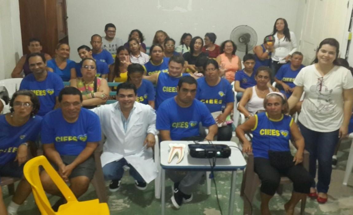 Curso de Odontologia da Esamaz atende Centro de Educação Especial, em Belém.