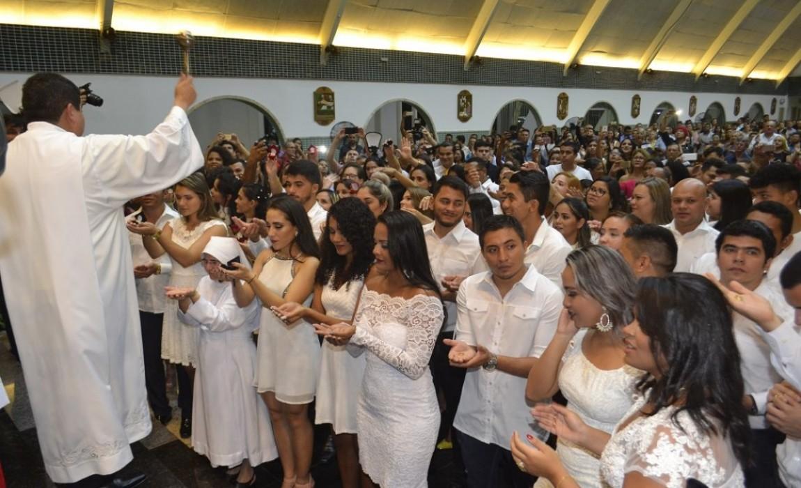 Formandos 2018-1 da Esamaz participam da Missa de Formatura
